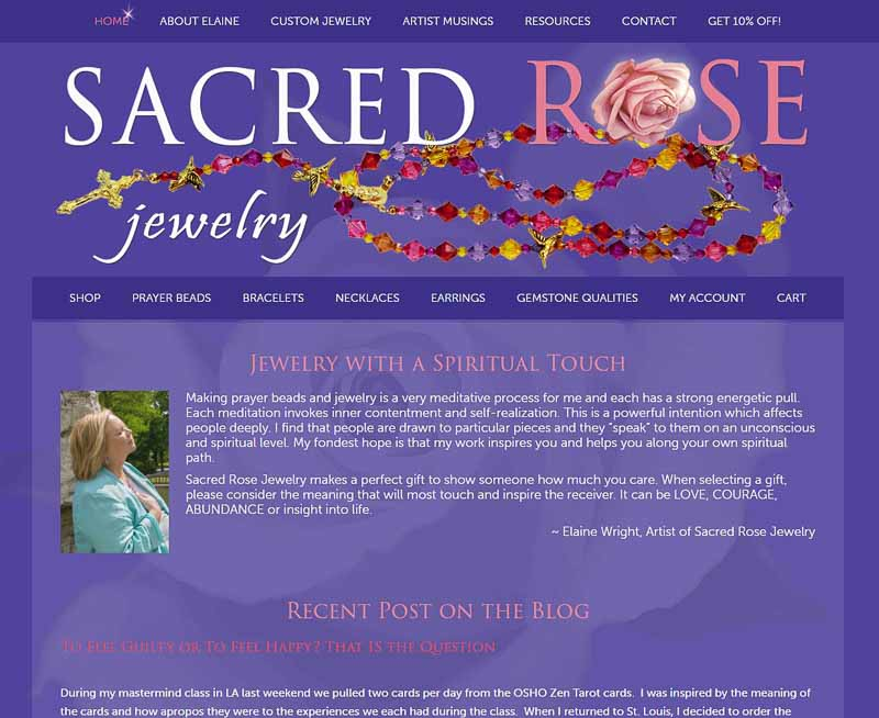 Sacred Rose Jewelry